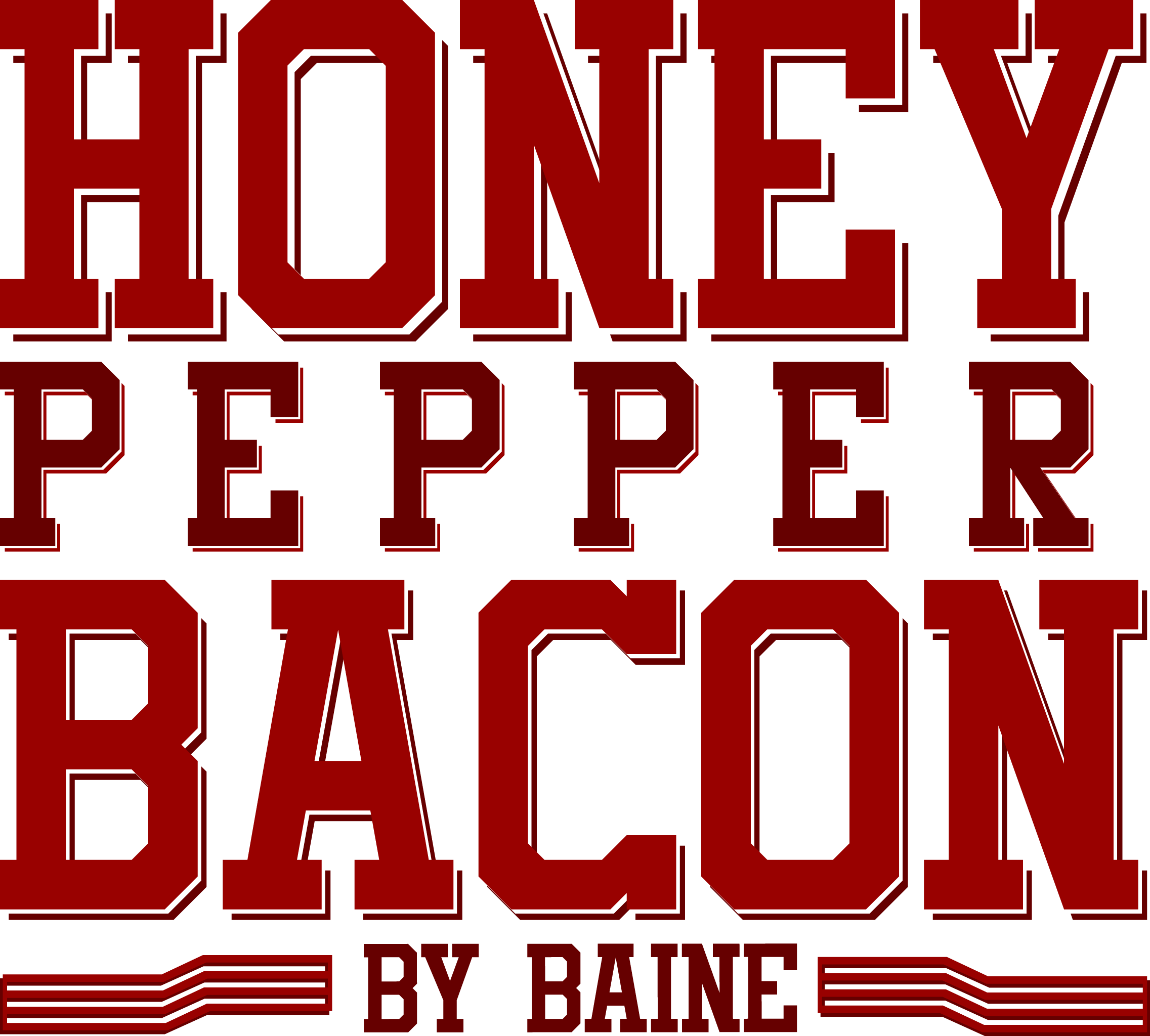 Honey Pepper Bacon